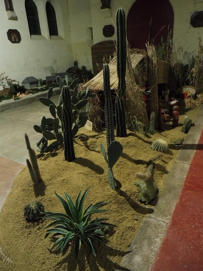 Décor de crêche du Pérou à Saint Jacques à Guiclan ( 29 )