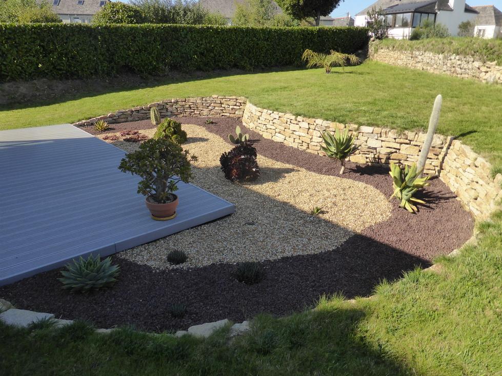 Jardin aménagé avec nos plantes