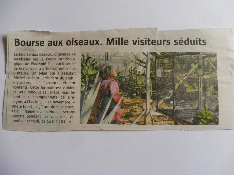 Ouest France du 25-10-2017